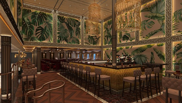 A new area for Carnival will be the French Quarter on Deck 6 aft. It will include a jazz club with live entertainment and handcrafted drinks.