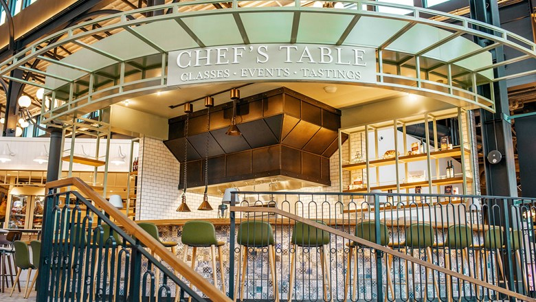 Exclusive to Eataly Las Vegas, the Chef's Table enables guests to book a private cooking lesson and meal with the Italian market's executive chef.