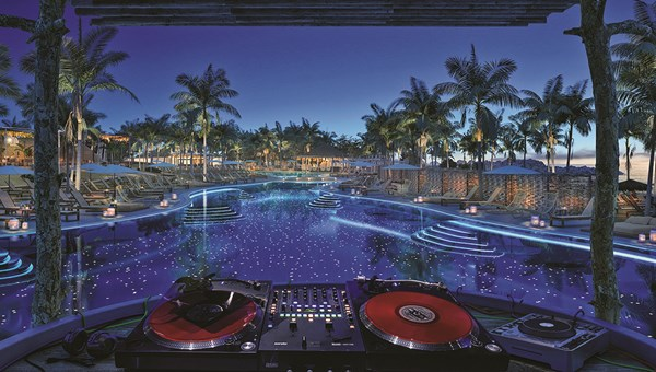 The Beach Club will feature a DJ-led pool party.