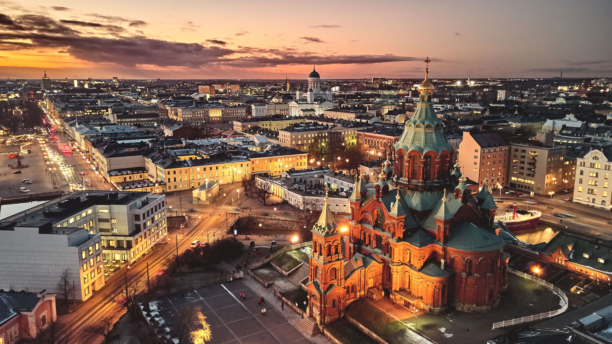 VisitFinland and Avanti promote Helsinki and Lapland