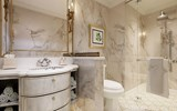 The bathroom in a Signature Suite.