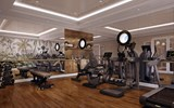 The Mekong Jewel's gym.