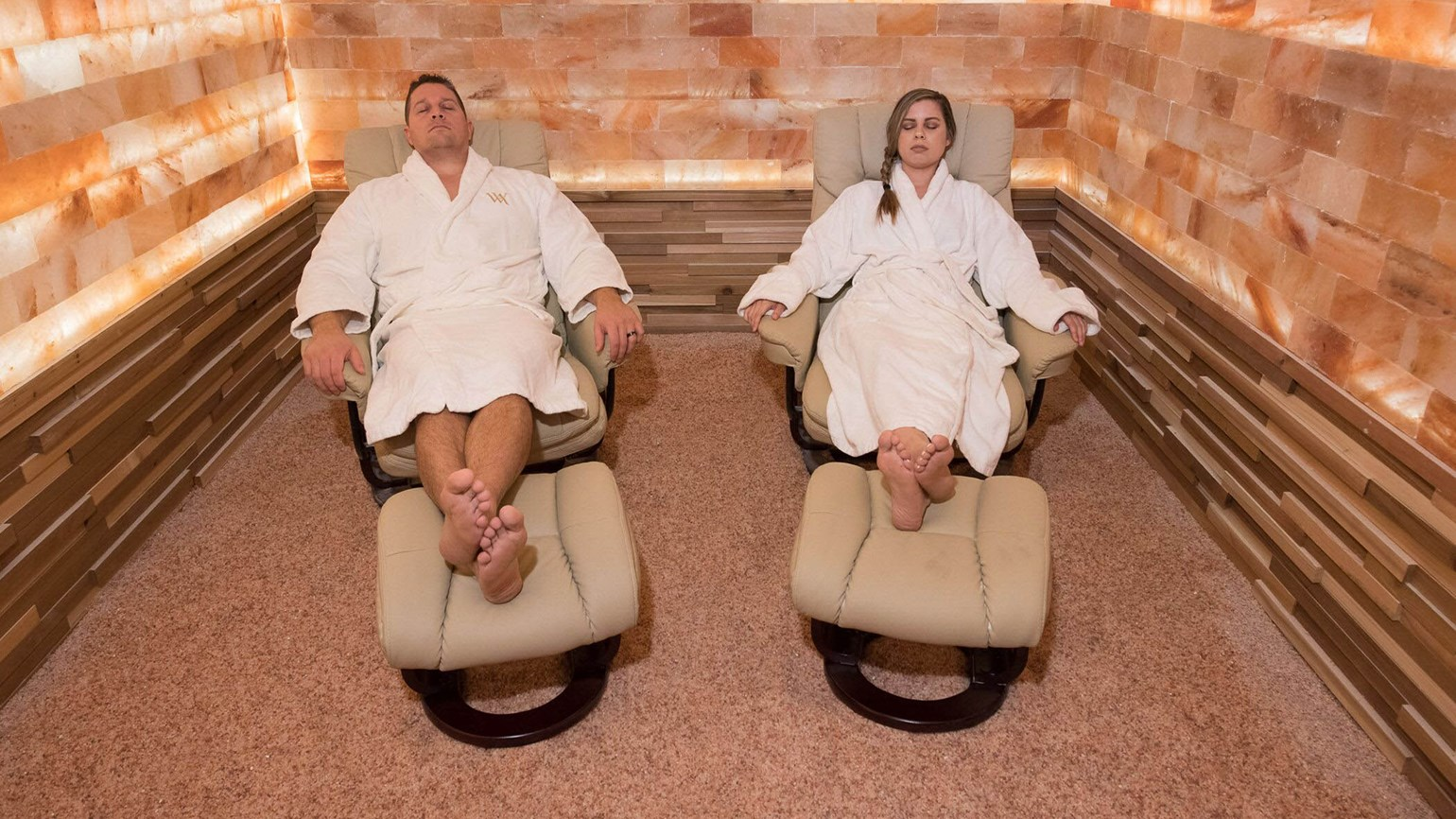 Waldorf Astoria Orlando spa opens Himalayan salt room