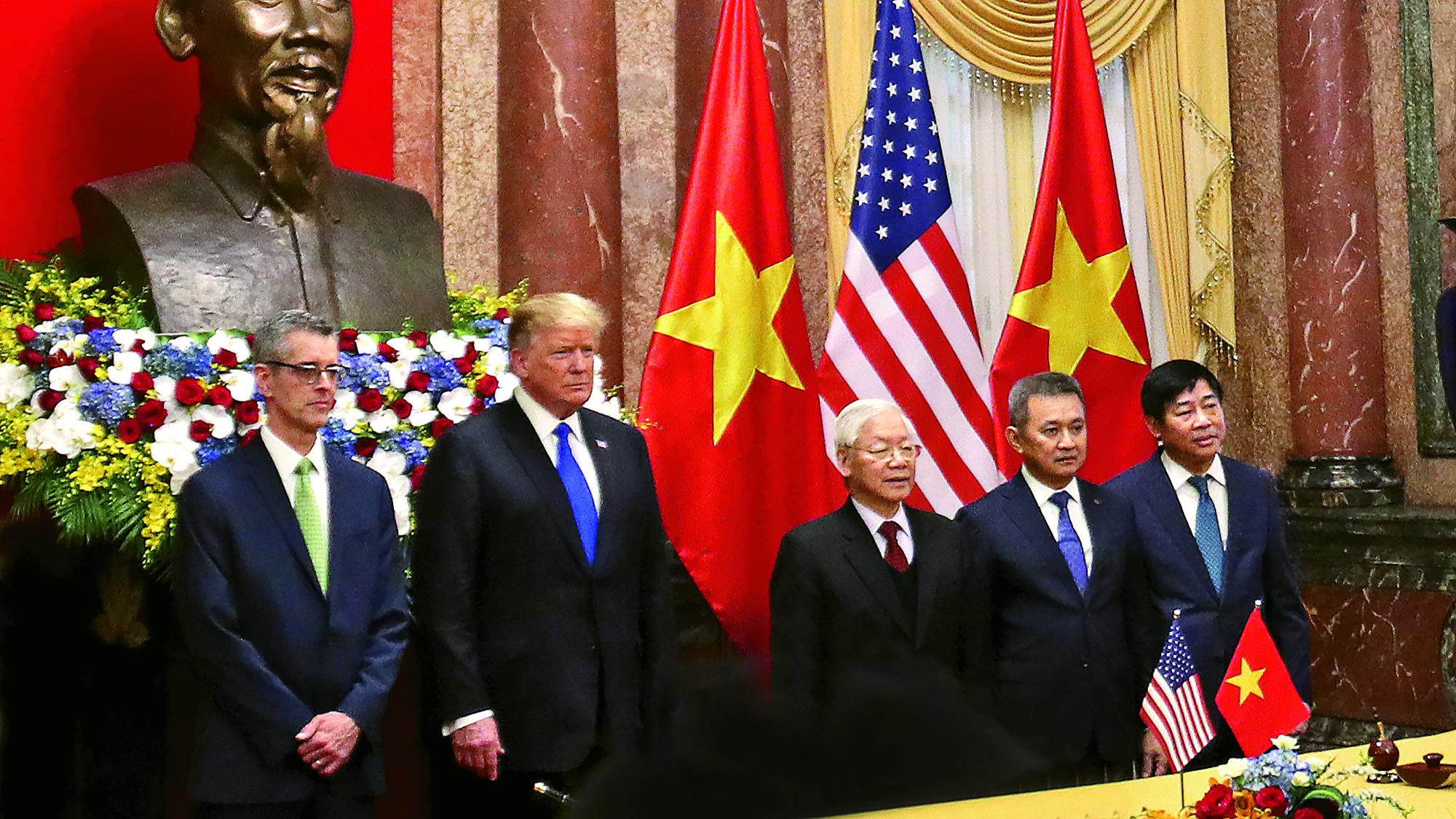 Trump Hanoi