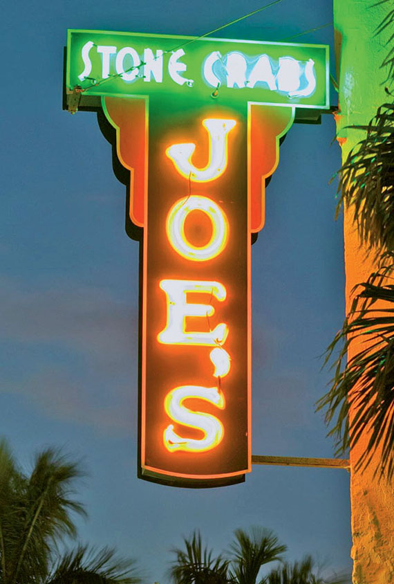 The venerable Joe's Stone Crab, which opened in 1913, remains one of the best Miami Beach restaurants.