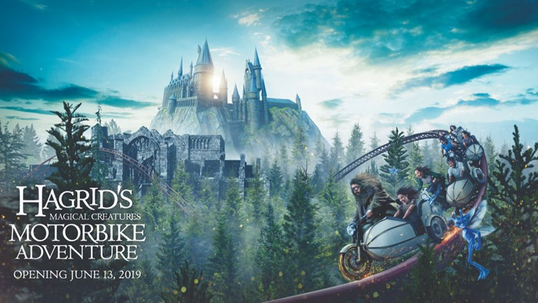 Universal Plants Forest To Go With Harry Potter Roller Coaster