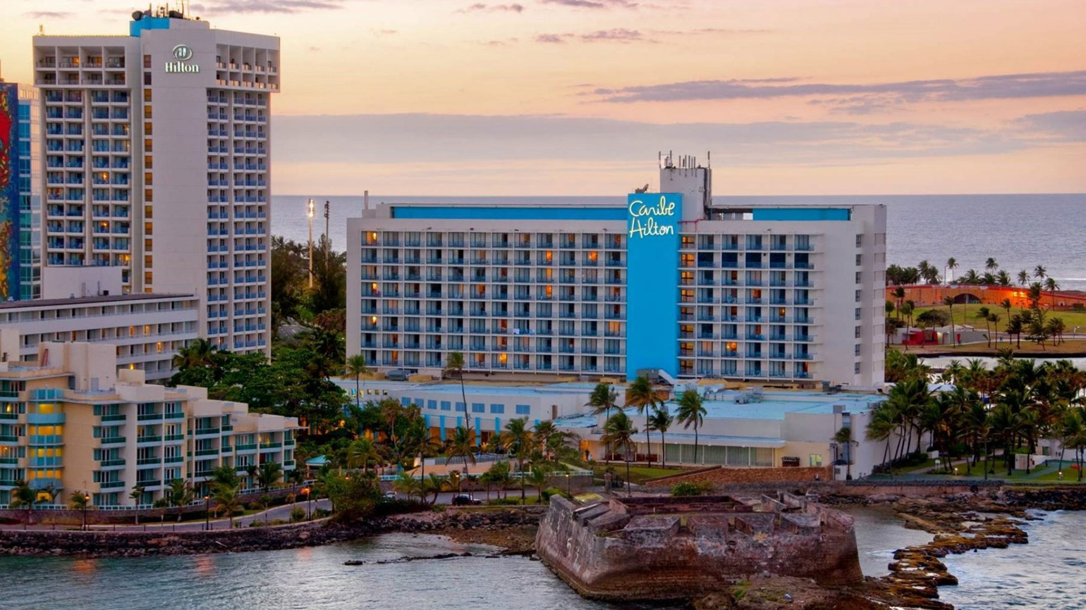 Iconic Caribe Hilton in Puerto Rico to reopen in May