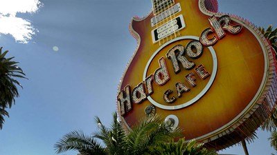 Hard Rock icon shines again at Neon Museum