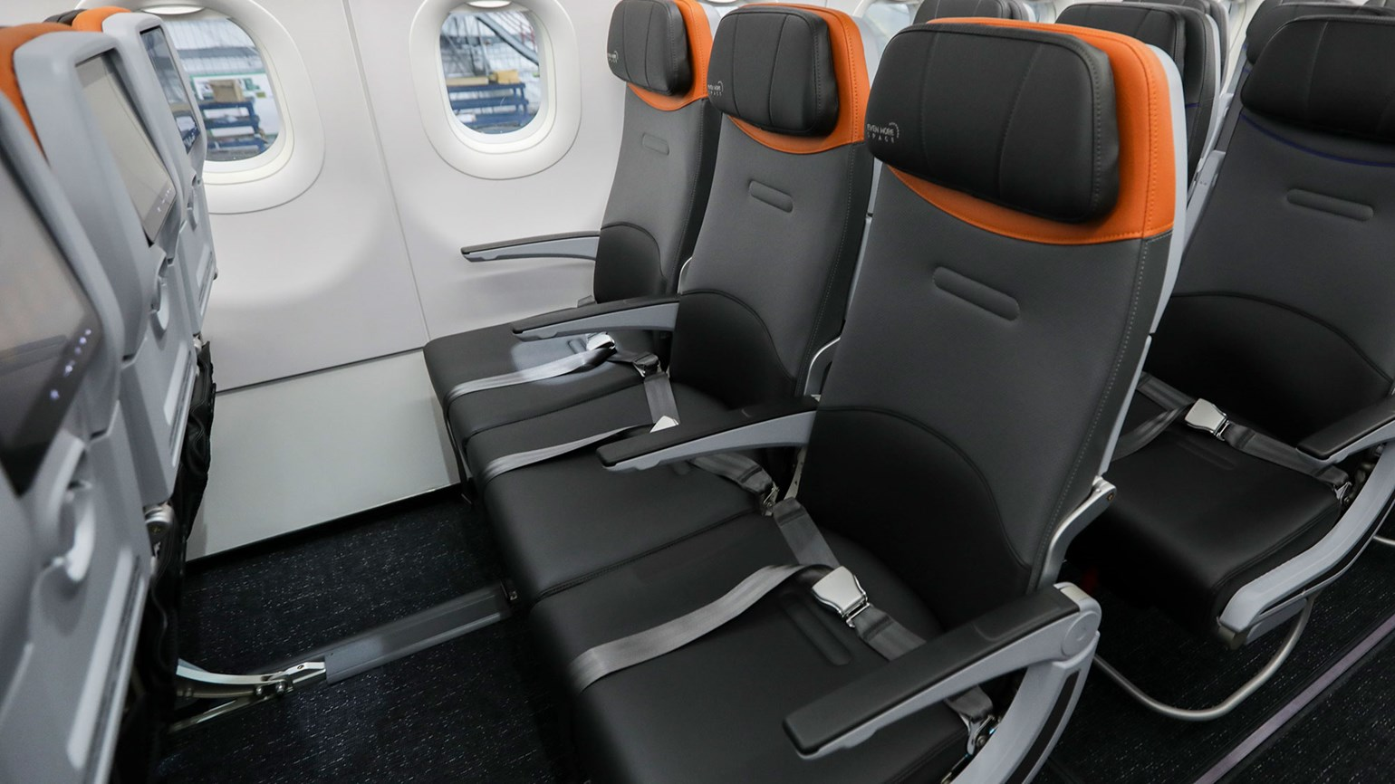 JetBlue seats wider in revamped cabin, but with less legroom