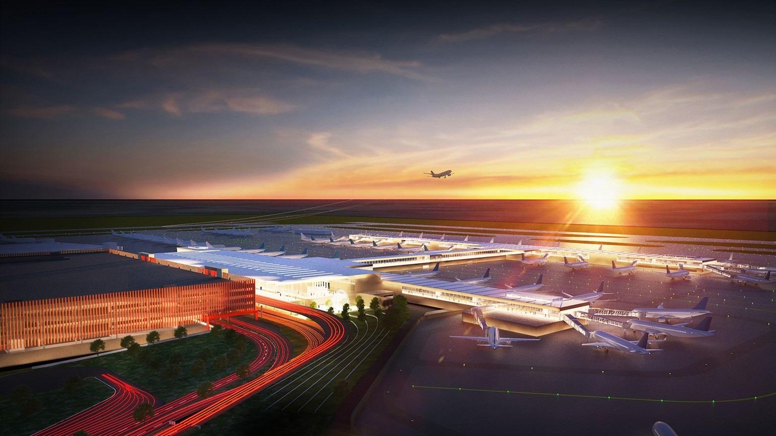 Kansas City airport project begins