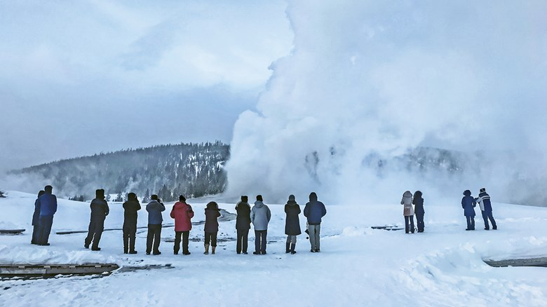 Pure winter magic: How Yellowstone tour operators ease overtourism