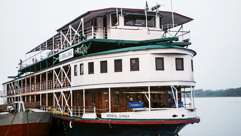 The Bengal Ganga was the first passenger ship to sail from India to Bangladesh since Bangladesh became a country.