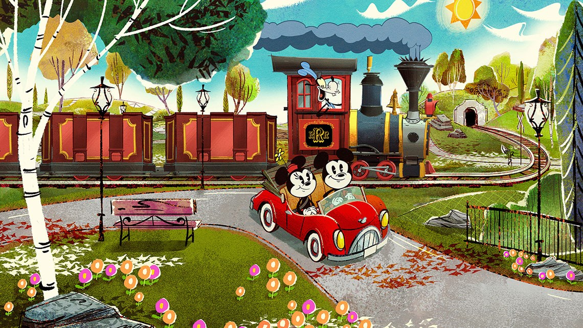 Mickey and Minnie thrill ride coming to Disneyland