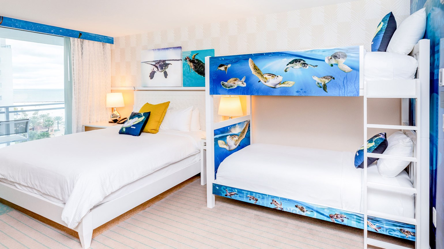 Wyndham Grand Clearwater Beach debuts sea turtle-themed guestrooms