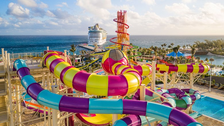 CocoCay's waterpark opened earlier this year.