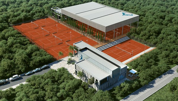 The Rafa Nadal Tennis Centre features eight clay courts, a Nadal museum and a sports shop.