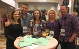 Attendees mixed and mingled during GTM West's welcome reception at The Westin Lake Las Vegas Resort & Spa.