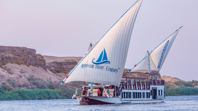 Aggressor Adventures launched its first river boat, the Nile Queen, a 155-ft. dahabiya that holds 16 passengers last September.