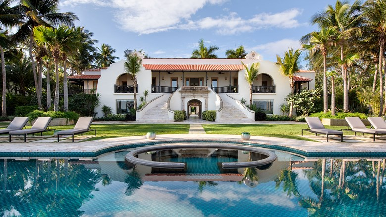 The five-bedroom Su Casa at Dorado Beach, a Ritz-Carlton Reserve.