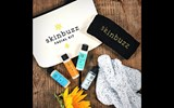 This all-in-one Skinbuzz Facial Kit contains everything a traveler needs to keep his or her skin looking and feeling healthy.