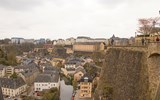 A view from Luxembourg City's Old Quarters and Fortifications, a Unesco World Heritage Site.