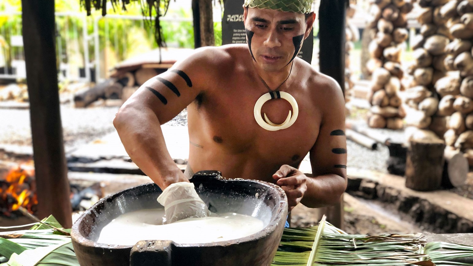 Hands-on experiences at the Polynesian Cultural Center