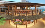 Carnival revealed several new casual eateries bound for its upcoming Mardi Gras ship, its biggest vessel to date. Here, a rendering of the two-deck RedFrog Tiki Bar, which will replace the RedFrog Rum Bar.