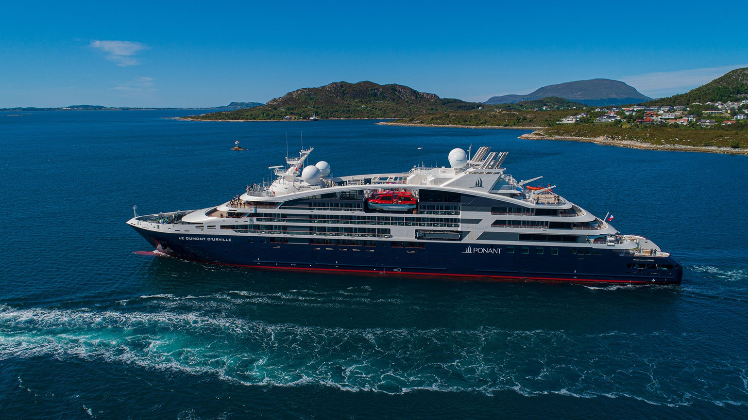 Ponant takes delivery of fourth Explorer-class ship