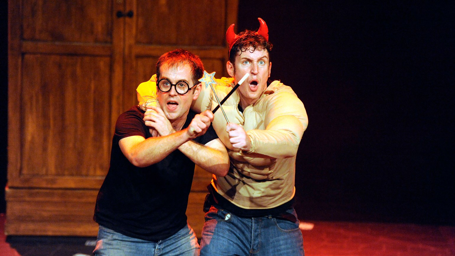 Harry Potter parody casts comic spell at Bally's