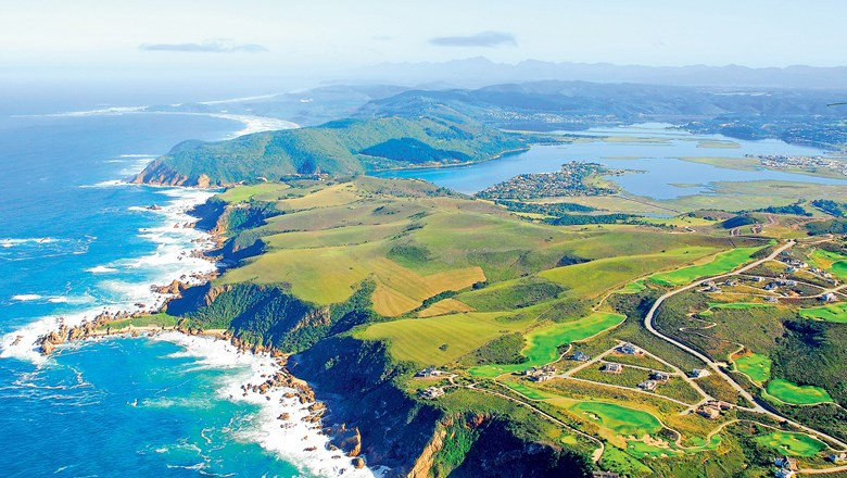 Knysna on the Garden Route, South Africa.