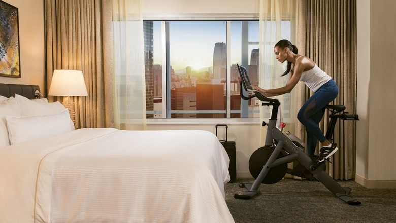 Hotels riding along with Peloton craze: Travel Weekly