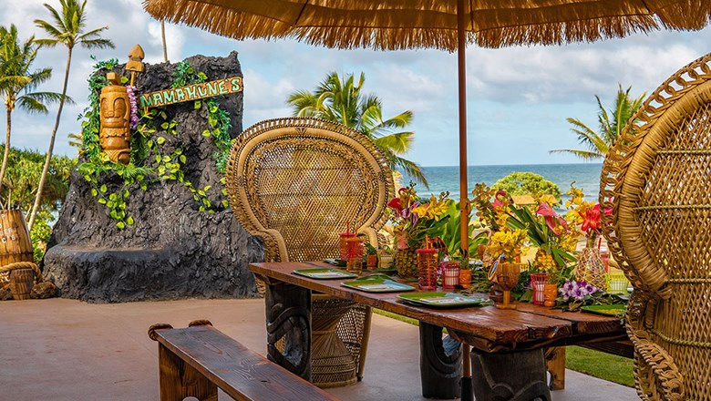 Hilton Garden Inn Wailua Bay Kauai debuted Mamahune's Tiki Bar and Restaurant at the end of June.
