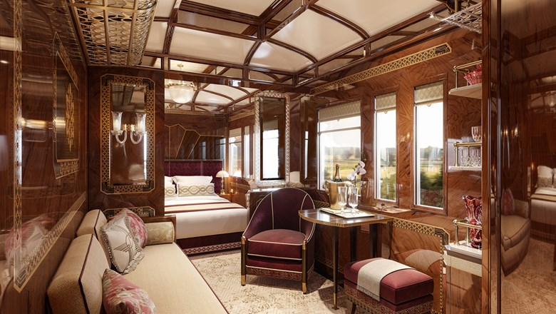 The Prague Grand Suite on the Venice Simplon-Orient-Express is set to debut in 2020.