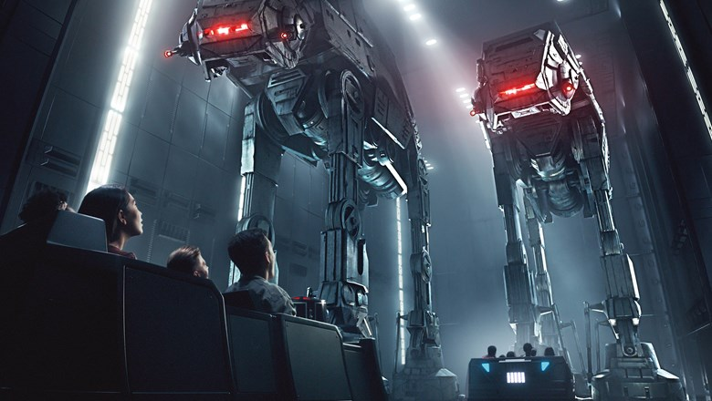 Riders will find themselves in the middle of a battle between the First Order and the Resistance.