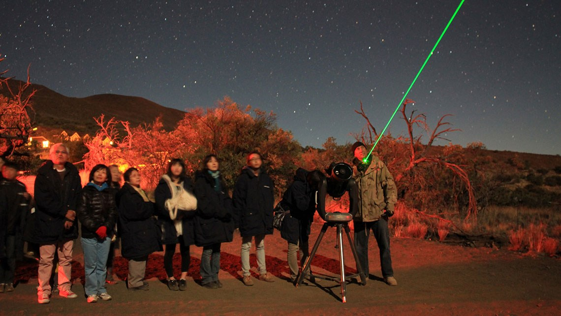 Telescope project at center of Mauna Kea disruption