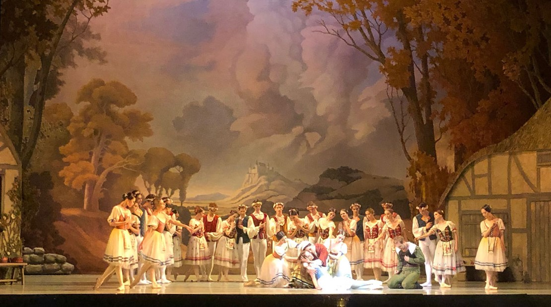 "The close of Act 1 of ""Giselle"" performed by the Ballet Company of the Primorsky Stage at the Mariinsky Theater in St. Petersburg, Russia."