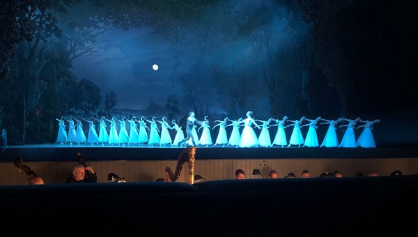 "Act 2 of ""Giselle"" takes place in a graveyard."