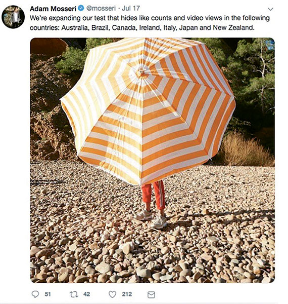 Agents give thumbs-up to hiding Instagram likes counts: Travel Weekly