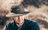 The River Hat, which comes in khaki, blue or dark olive, uses what Alchemi calls ''radiant barrier technology'' to block 99.8 percent of skin-damaging UV rays while reflecting 80 percent of the sun's heat.