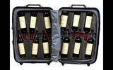 If you are not a wine lover or planning to become one, best move on; this product is not for you. Marketed for oenophiles, the VinGardeValise is equipped with closed foam-insert wine cavities that will hold a combination of wine bottles of almost any shape.