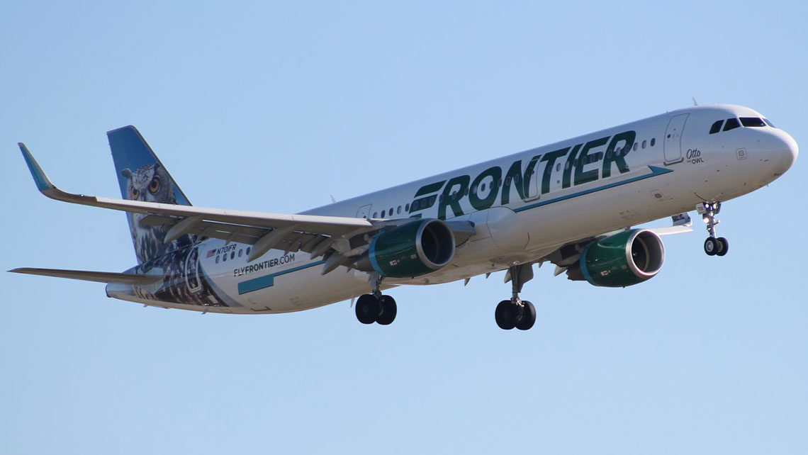 Frontier Airlines alters change-fee policy