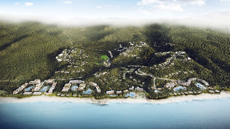 The NIA complex in Riviera Nayarit will have Ritz-Carlton, Westin, Autograph Collection and Marriott resorts.