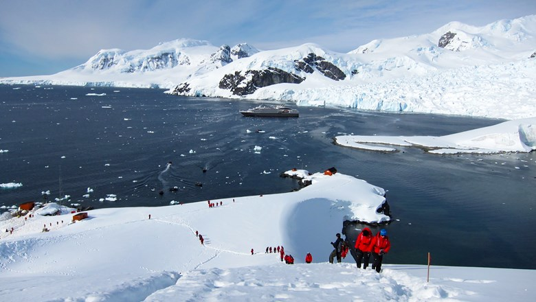 With Abercrombie & Kent's polar cruises, the operator does a full-ship charter, and then it adds its own team of specialists.