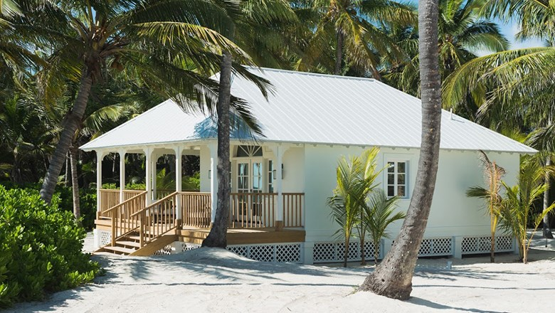 One of the villas at Caerula Mar, which is scheduled to open this fall on South Andros Island in the Bahamas.