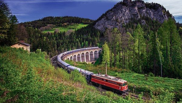 The Golden Eagle Danube Express, which will be part of a Tauck tour through the Alps in central Europe.