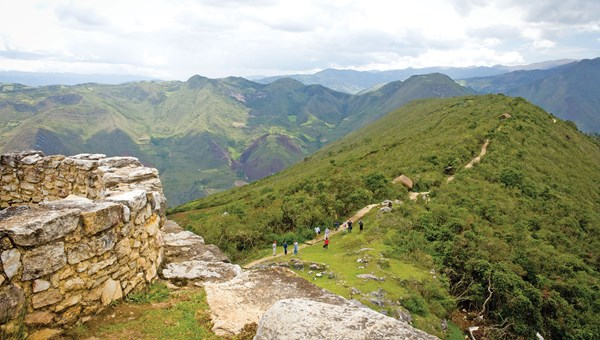 G Adventures tours takes guests to the fortified city of Kuelap, often called the Machu Picchu of northern Peru.