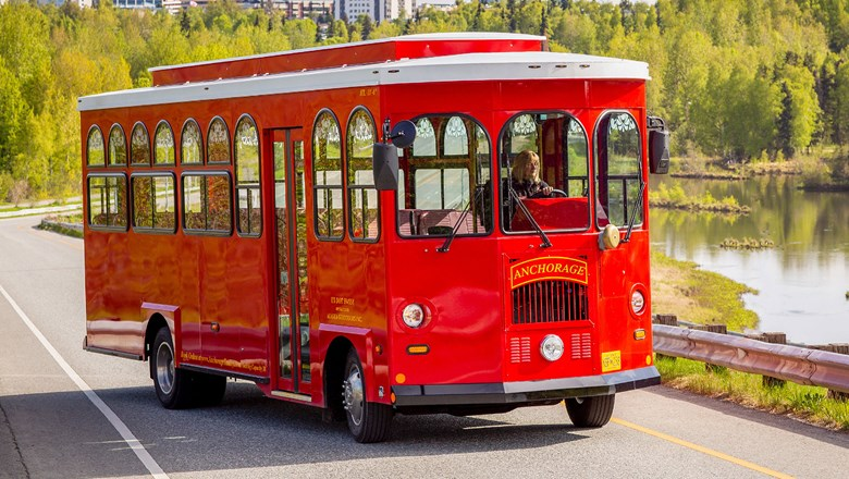 Caleb and Barbara Aldeman founded Anchorage Trolley in 1995.