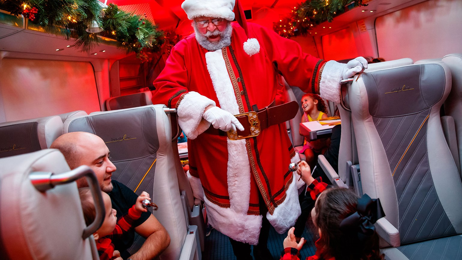 Virgin Trains USA says all aboard for 'Polar Express'