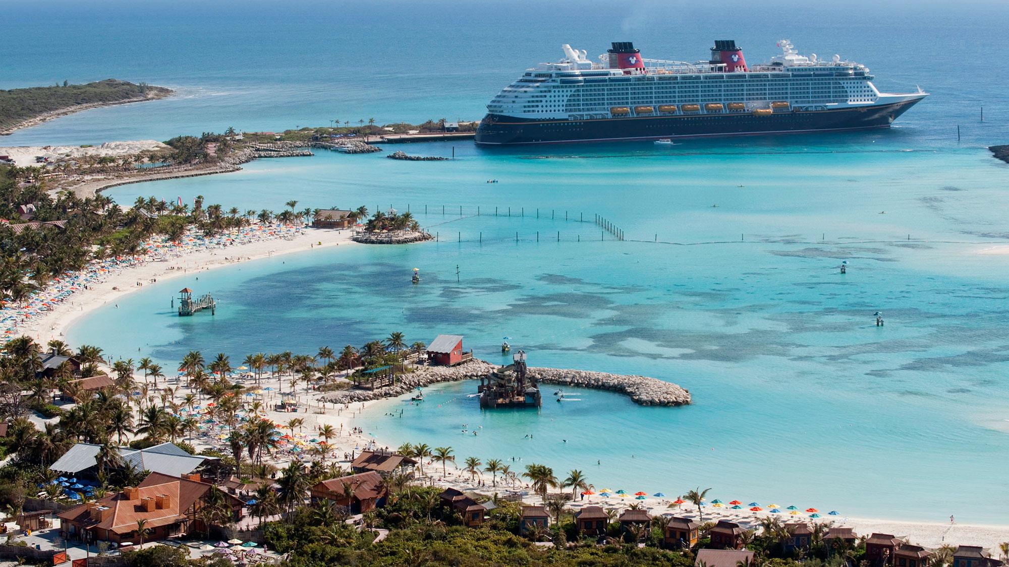 The Disney Dream at Castaway Cay.