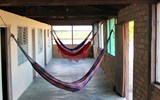 Should it feel too stuffy in the guest rooms, hammocks provide a nice alternative to bunks.